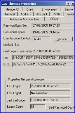 Additional Account Info acctinfo.dll