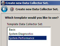 Data Collection Set - Windows 2008