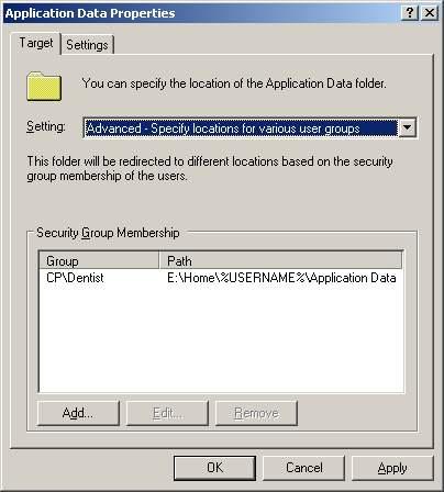 Folder Redirection Windows Server 2003 - Microsoft Group Policy