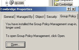 Group Policy Block Inheritance.