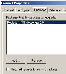 Group Policy - Software Upgraded