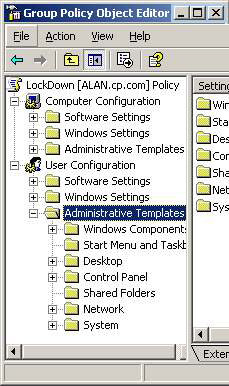 Windows Group Policy Settings