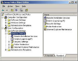 Group Policy - Windows Settings