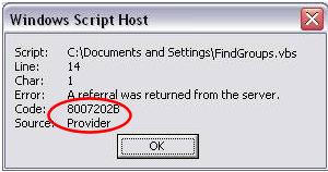 Error 8007202B