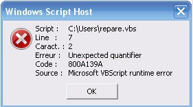 Error Code 800A139A