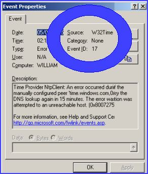 Event ID 17 VBScript with WMI, and FSO to write data to file
