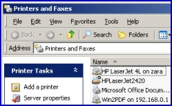 Example  Printer VBScript with AddWindowsPrinterConnection