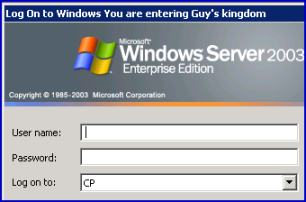 VBScript to add the Welcome message to Winlogon Logon Box