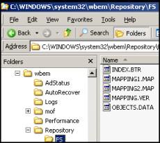 WBEM Directory 80041001