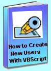 How to create users with a VBScript