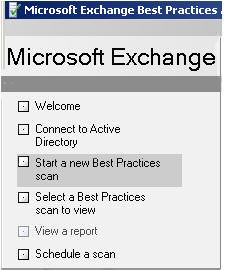 Microsoft ExBPA Exchange Best Practice Analyzer