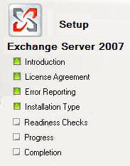 Microsoft Exchange Server 2007 Migration