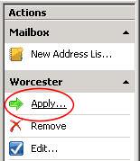 Update Exchange 2007 Global Address List (GAL)