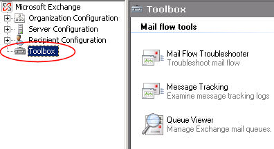 Mail Flow Troubleshooter