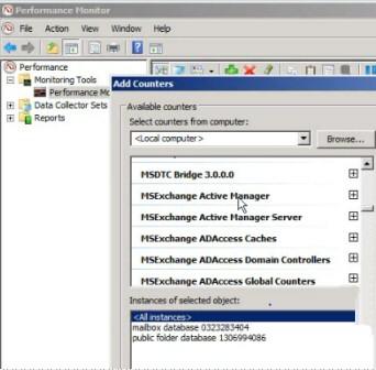 Exchange 2010 Performance Monitor