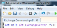 Exchange 2010 PowerShell Cmdlet List