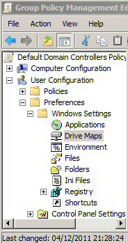 Windows Server 2008 Group Policy Preferences