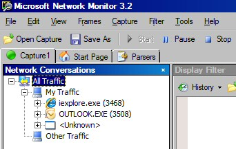 Vista Network Monitor Conversations