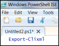 Windows PowerShell Export-CliXml