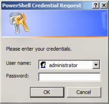 Windows PowerShell Get-Credential
