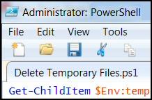 PowerShell Delete Temp files