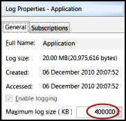 PowerShell Limit-Eventlog