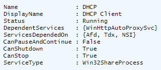 PowerShell Format-list