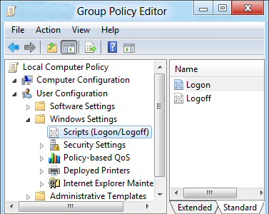Gpedit.msc Logon Scripts