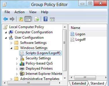 PowerShell 3.0 Logon Script Gpedit.msc
