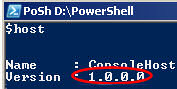 PowerShell $Host command