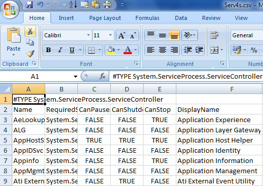 PowerShell Import-CSVDE Example