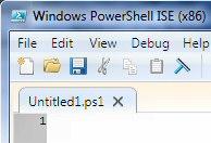 Windows PowerShell ISE (Integrated Scripting Engine)| $psIse