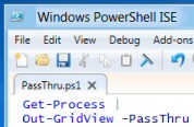 PowerShell PassThru  Version 3.0