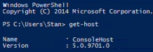 Windows PowerShell 5 Version