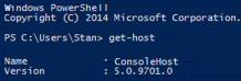 Windows PowerShell 5 Version