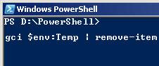 PowerShell Temp files