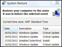 Restore-Computer PowerShell