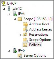 Configure DHCP in Windows Server 2012