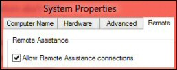 Troubleshooting Remote Desktop Connection Windows 8