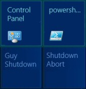 How To Create a Windows Metro Shutdown Tile