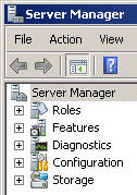 Windows Server 2008 Server Manager