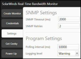 Free network bandwidth monitor