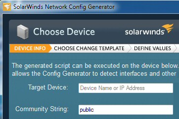 Free network config generator download