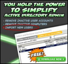 Download SolarWinds Free Import Users Tool