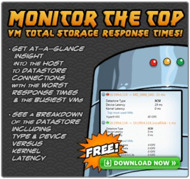 Free Download of Storage Response Time Manager