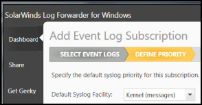 SolarWinds Event Log Forwarder for Windows Review