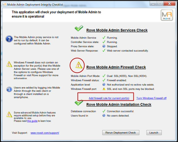 Evaluate Moble Admin Deployment