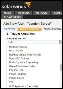 Solarwinds NPM 11.5 Alerts