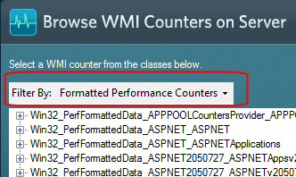 Solarwinds WMI Monitoring Performance Counters