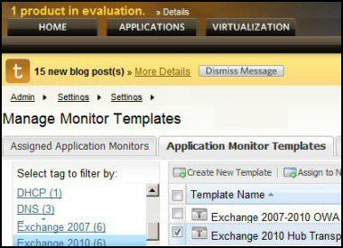 Appraisal of SAM Application Performance Monitor